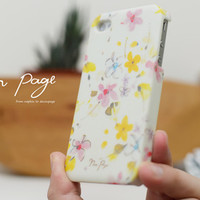 apple iphone case : floral soft from nappage