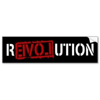 Revolution Bumper Stickers from Zazzle.com