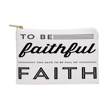 Allyson Johnson Full Of Faith Pouch