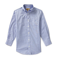Class Club Gold Label 8-20 Non-Iron Oxford Shirt - Blue