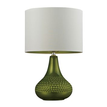 D266 Ceramic Table Lamp in Bright Green - Free Shipping!