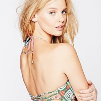 Mara Hoffman for Free People Womens Basket Weave Top - Astrodreamer,