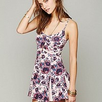 Free People  Printed Bed Of Blossoms Slip at Free People Clothing Boutique