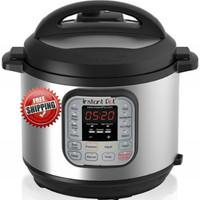 Stainless Steel  Digital 7 in 1 Pressure Cooker