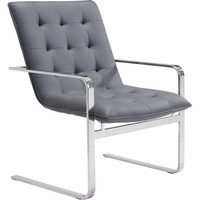 Solo Occasional Chair Gray (Set of 2)