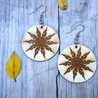 Mandala Zodiac Earrings