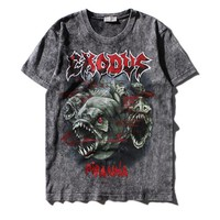 New Wave band Exodus Heavy Metal t shirt