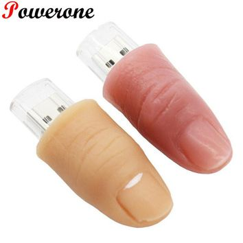 JASTER finger model usb flash drive memory stick cool pendrives 8gb 16gb 32gb plastic usb stick mini pen drive USB 2.0
