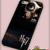 """Harry Potter Deathly hallows dobby for iPhone 4/4s, iPhone 5/5S/5C/6/6+, Samsung S3/S4/S5 Case """"005"""""""