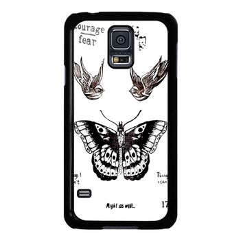 Tattoo Harry Style One Direction Samsung Galaxy S5 Case