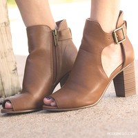 Open Toe Booties $41.00