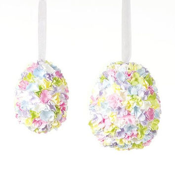 24 Easter Ornaments - Egg Shaped