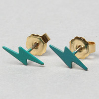 The Lightning Bolt Earring in Teal : Erica Weiner : Karmaloop.com - Global Concrete Culture