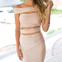 Vixen Dress (nude)