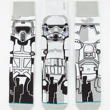 Stance X Star Wars Trooper Mens Socks White  In Sizes