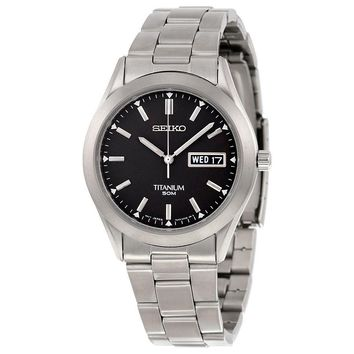 Seiko Titanium Mens Watch SGG707