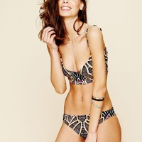 Free People Printed Classic Bottom