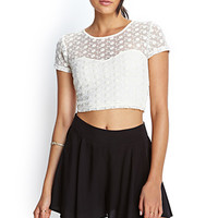 FOREVER 21 Flared Woven Shorts Black