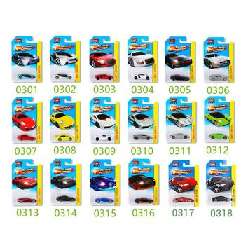 16Pcs 1:64 Hot Wheels Diecast Metal Car Models The Fast And Furious Pocket Cars Toys Sports Car Gifts Box Gifts For Boys Collect