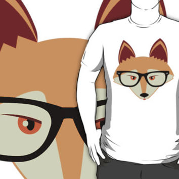 Red Fox with Glasses