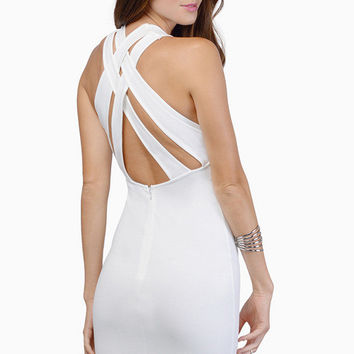 Backless Mini Dress One Piece Dress [6048642689]