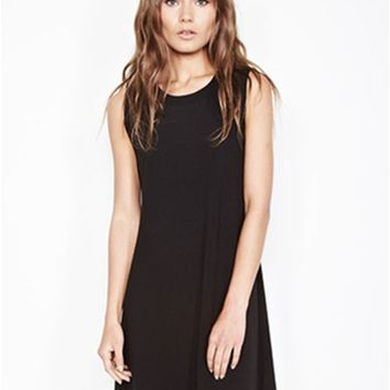 Michael Lauren Cyd Sleeveless Open Back Dress | Boutique To You
