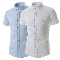Short Sleeve Slim Fit Shirt