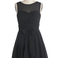 ModCloth LBD Short Sleeveless A-line Everythingb