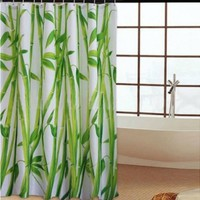 iOffer: Bamboo Forest Waterproof Fabric Bathroom Shower Curtain for sale