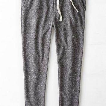 AEO Men's Colorblock Fleece Jogger Pant (Charcoal)