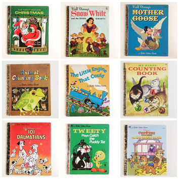 Vintage Little Golden Books - pick one