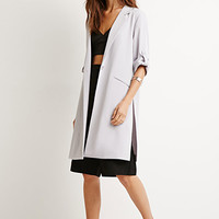 Roll-Tab Sleeve Jacket