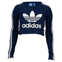 adidas Originals Paris Crop T-Shirt - Women's at Lady Foot Locker