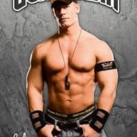 Posters: Wrestling Poster - WWE, John Cena - Signature (36 x 24 inches)