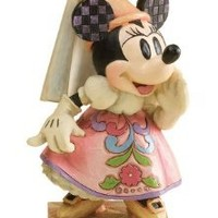Disney Traditions by Jim Shore 4011753 Princess Minnie Mouse Personality Pose Figurine 5-Inch