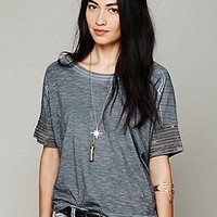 Free People  We The Free Band of Beads Tee at Free People Clothing Boutique