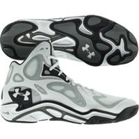 Under Armour Men's Anatomix Spawn Basketball Shoe - White/Black | DICK'S Sporting Goods