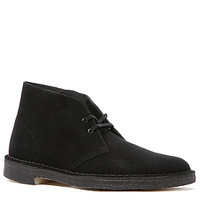 The Desert Boot in Black Suede