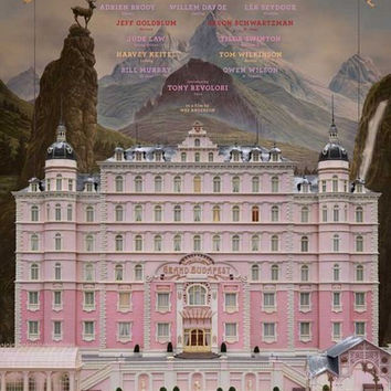 Grand Budapest Hotel Movie Poster 11x17
