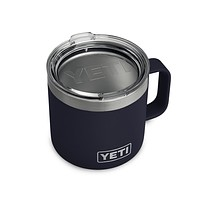 Rambler 14oz. Mug in Navy by YETI