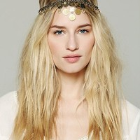 Free People Embellished Coin Headpiece
