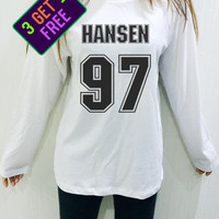 Dinah Jane Hansen 97 Shirt Fifth Harmony White Unisex Men Women Tshirt Long Sleeve