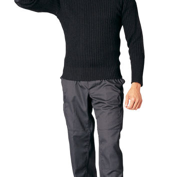 Government Type Wool Commando Sweater