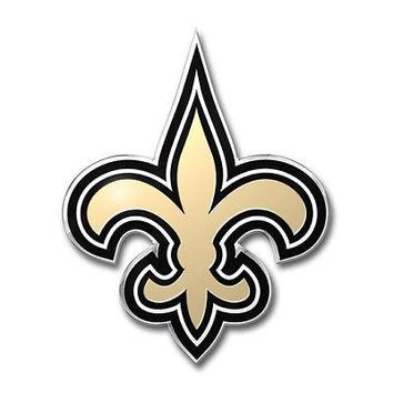 Licensed Official NFL New Orleans Saints Premium Vinyl Decal / Sticker / Emblem - Pick Your Pack