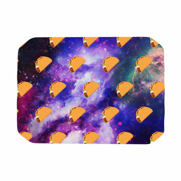 "Juan Paolo ""Taco Galaxy"" Pink Purple Place Mat"