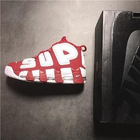 Nike x Supreme Air More Uptempo Sneaker Shoes