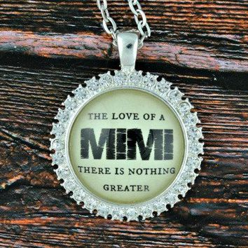 Mimi Necklace - Gifts for Mimi - Mimi Gift - Mimi Jewelry - Gifts for Grandma