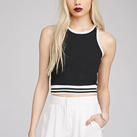 Varsity-Striped Ringer Tank