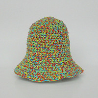 Toddler  Summer Hat 1 to 2 Year Old Infant Girl  Cap 12 To 24 Month Baby Boy Colorful Yellow Red Green Blue Cotton  Spring Beanie