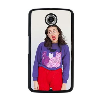 MIRANDA SINGS Nexus 6 Case Cover